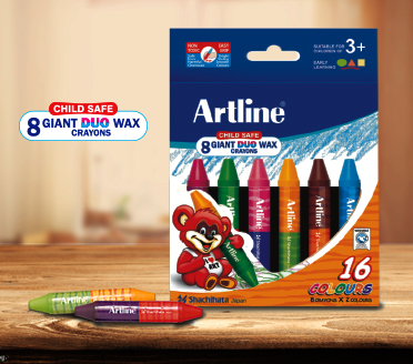 Giant Duo Wax Crayons